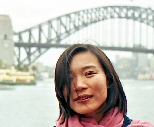 Sydney Harbour and Miss Tsai