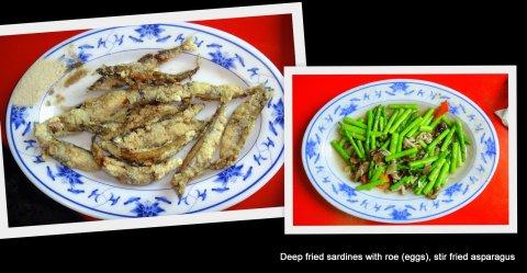Seafood Street on Cijin Island, Kaohsiung.