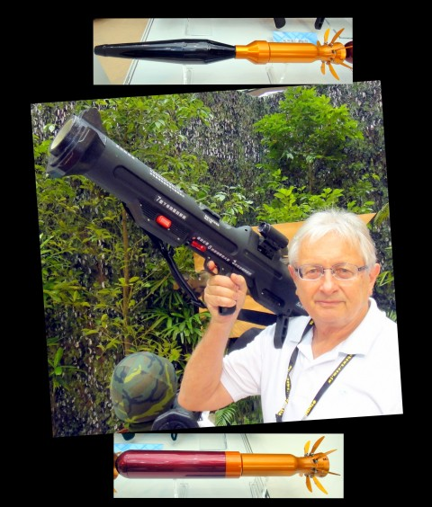 Designed and manufactured for specific use by and for Taiwan's military. A frightening small weapon.