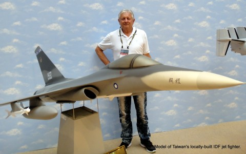 Model of the real IDF.  The Indigenous Defense Force fighter jet.