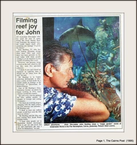 Public relation press release (1995)
