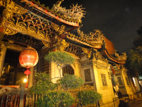 Front section, Longshan Temple.