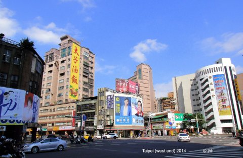 Nanjing Road West and ChongQing Road - not far from Carrefour Store and much more.